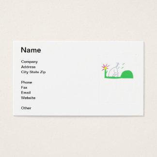 Digging Dog Business Card