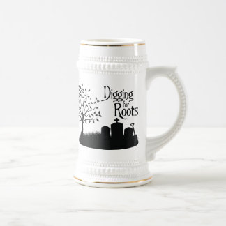 Digging For Roots Beer Stein