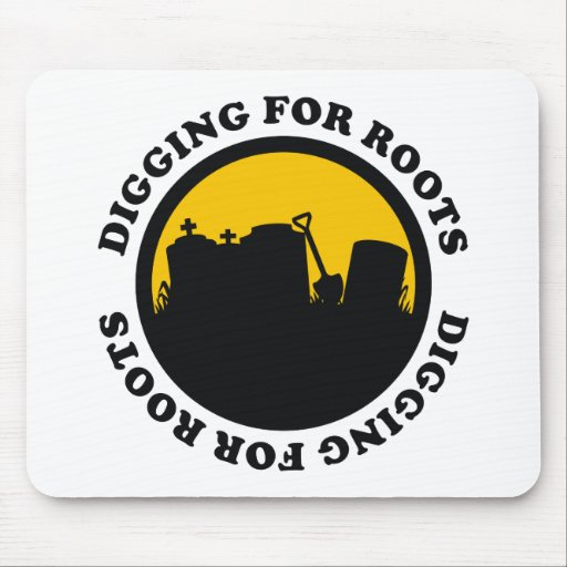 Digging For Roots Mouse Pad