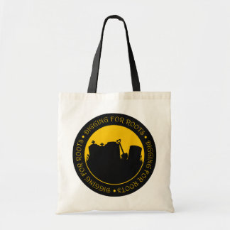Digging For Roots Tote Bags