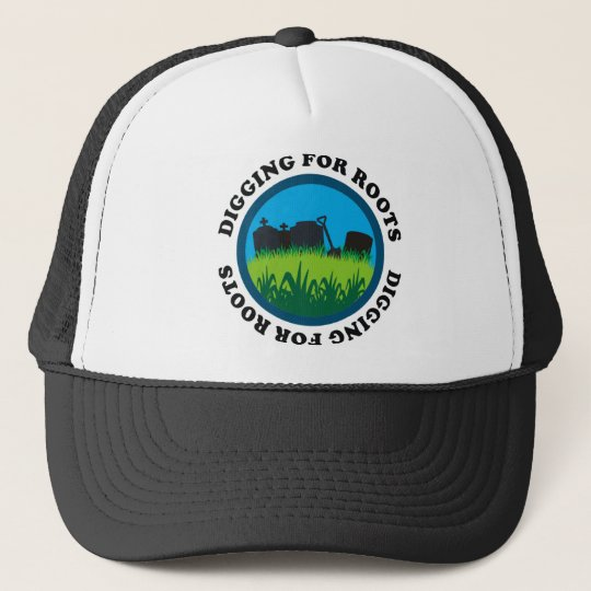 Digging For Roots Trucker Hat