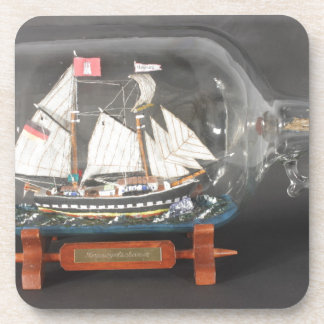 Digging ship Topsegelschoner of 4 litres of bottle Coaster