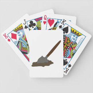 Digging Spade Bicycle Playing Cards