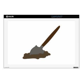 Digging Spade Decal For Laptop