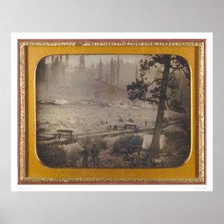 Diggings at Grizzly Flat, El Dorado Co.  (40070) Poster