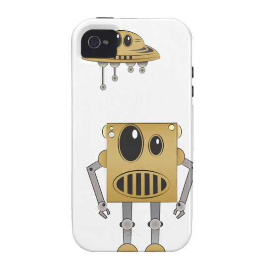Digi-Art Bot iPhone Case