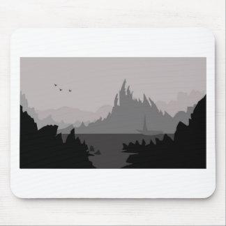 Digi Mountains Mouse Pad