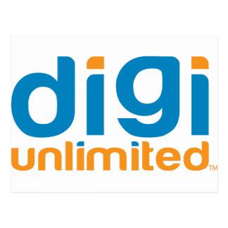 Digi Unlimited Postcard