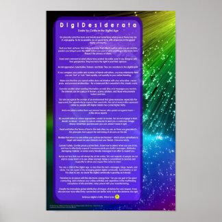 DigiDesiderataVersion2 Poster