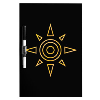 Digimon Crest of Courage Dry Erase Board