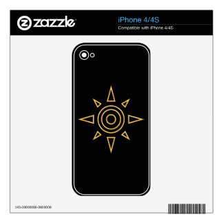 Digimon Crest of Courage Skin For The iPhone 4