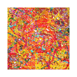 Digiri Doozie 5 Abstract Art Wrapped Canvas