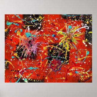 Digiri Doozie 8 Abstract Art Poster