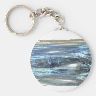 Digita fresco del extracto del diseño de la luz de llavero redondo tipo pin