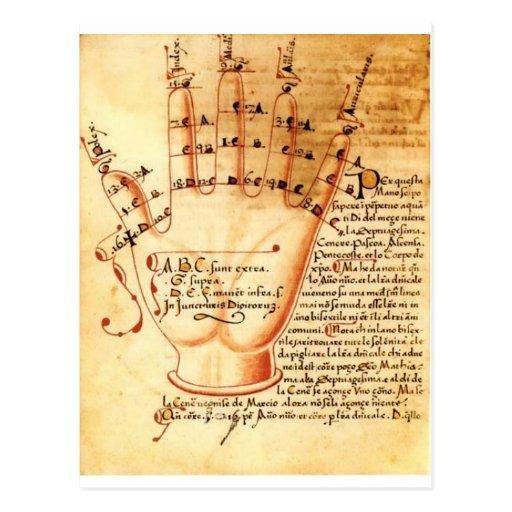 Digitaces Comput: Matemáticas medievales Tarjeta Postal