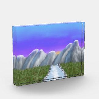 Digitaces Painting_Mountains y premio púrpura del