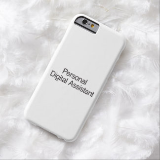 Digitaces personales Assistant.ai Funda De iPhone 6 Barely There