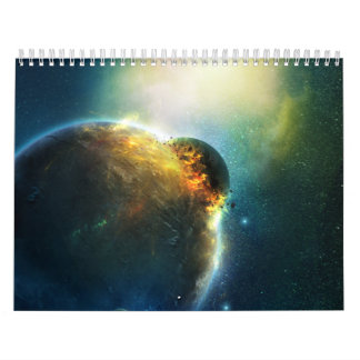 Digitaces Spacescapes 2012 de Susan Calendarios De Pared