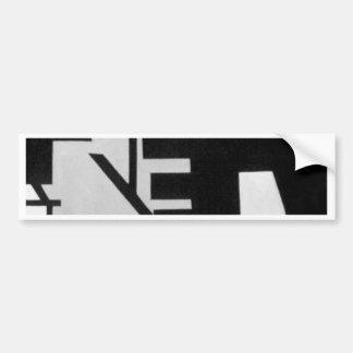 Digital2.jpg Bumper Sticker
