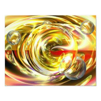 Digital Abstract Art Card