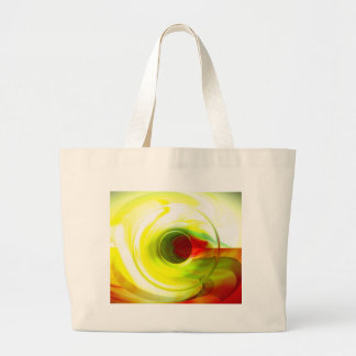 Digital Abstract Art Large Tote Bag