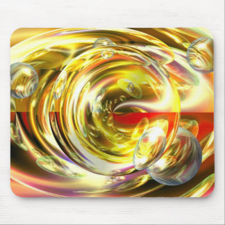 Digital Abstract Art Mouse Pad