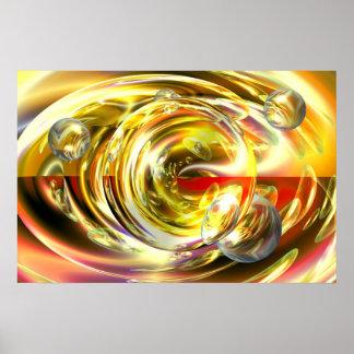 Digital Abstract Art Painting Wall Poster Print