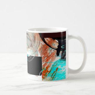 Digital Abstract Artwork Coffee Mug