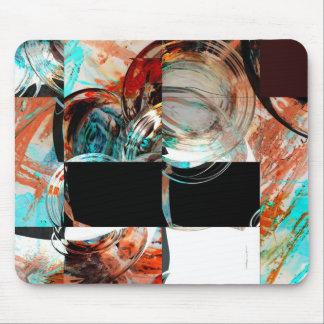 Digital Abstract Artwork Mouse Pad