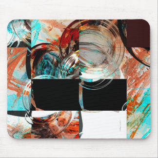 Digital Abstract Artwork Mouse Pads