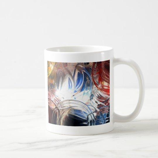 Digital Abstract Coffee Mug