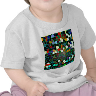 Digital Abstract Design in Colours Infant TeeShirt Tee Shirts