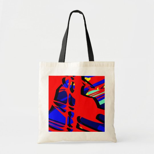 Digital Abstract Expressionist 05 Tote Bag