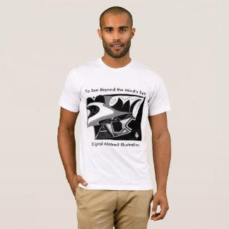 Digital Abstract Illustration Divine 6x40 T-Shirt