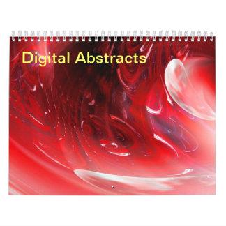 Digital Abstracts 2017 Calendar