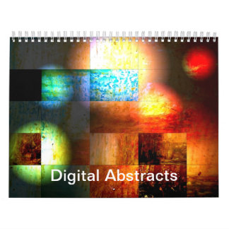 Digital Abstracts 2018 Calendar