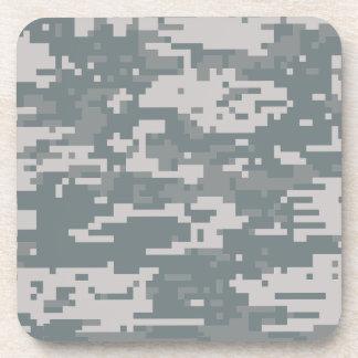 Digital ACU Camoflage Beverage Coaster