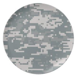 Digital ACU Camoflage Plate