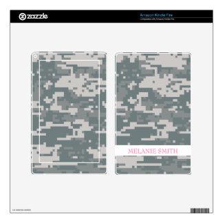 Digital ACU Camoflage Kindle Fire Decal