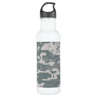 Digital ACU Camoflage Water Bottle