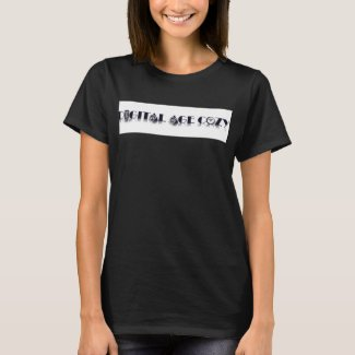 Digital Age Cozy Basic Black T-Shirt