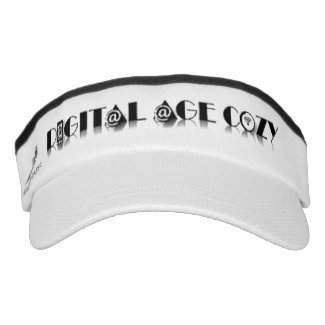 Digital Age Cozy Visor (White)
