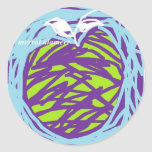 Digital Apple Sticker