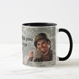 digital, army man plain, real patc... - Customized Mug