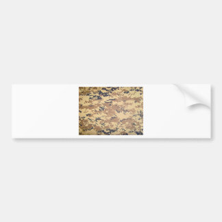 digital army military camouflage pattern gifts bumper sticker
