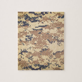 digital army military camouflage pattern gifts puzzles