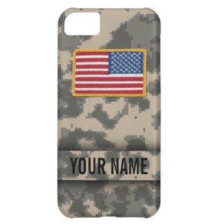 Digital Army Style Camouflage iPhone Case