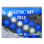 DIGITAL ART 2012 CALENDAR
