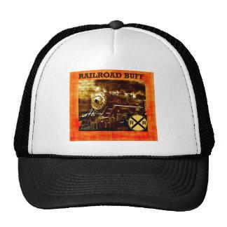 Digital Art Abstract Railroad Hat