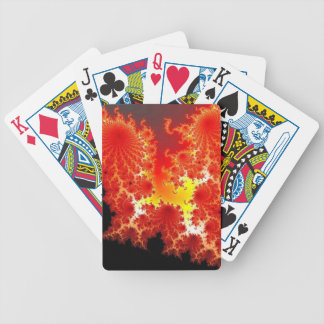 Digital art bicycle playing cards